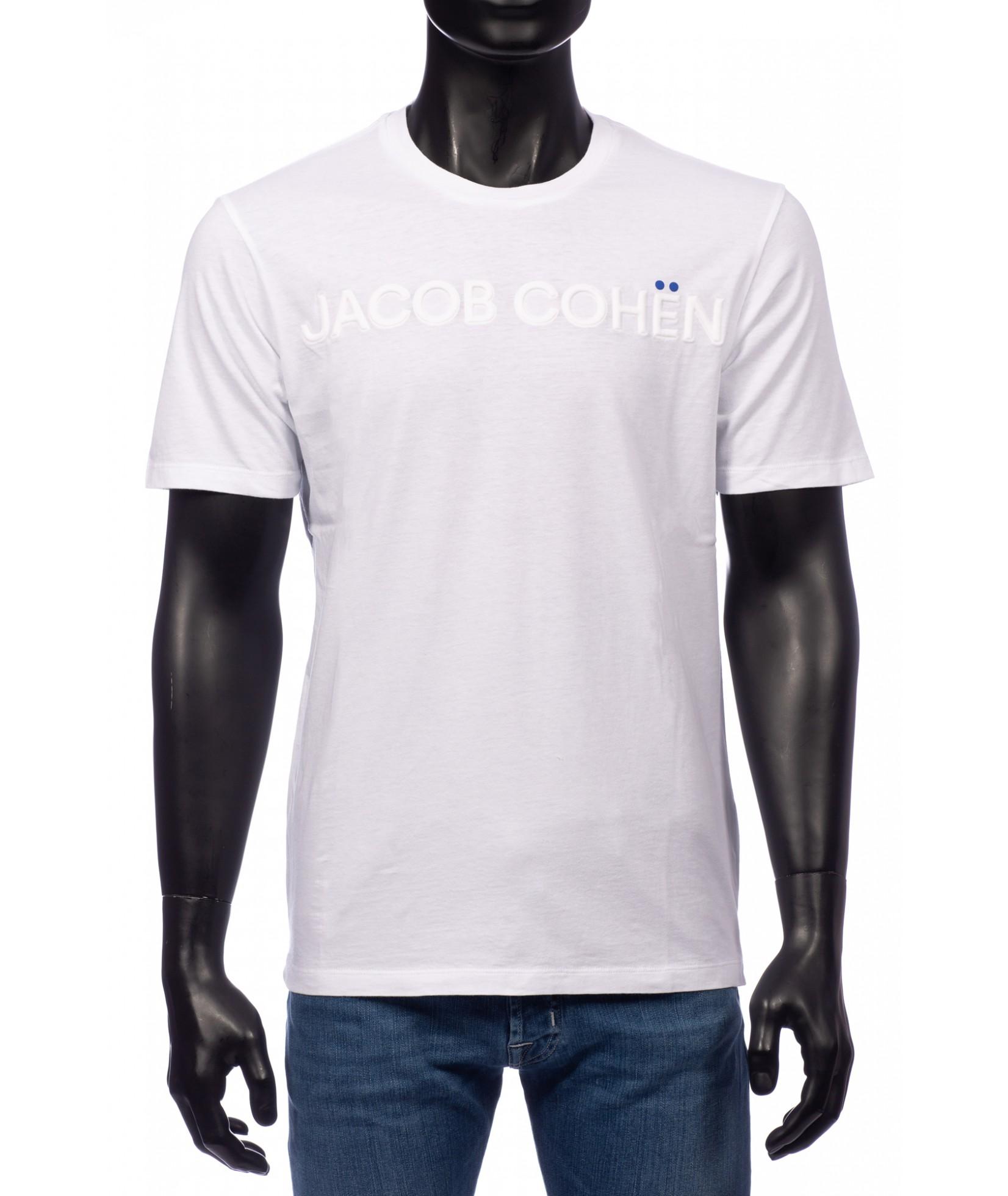 Jacob Cohen T-Shirt Weiß (32331)