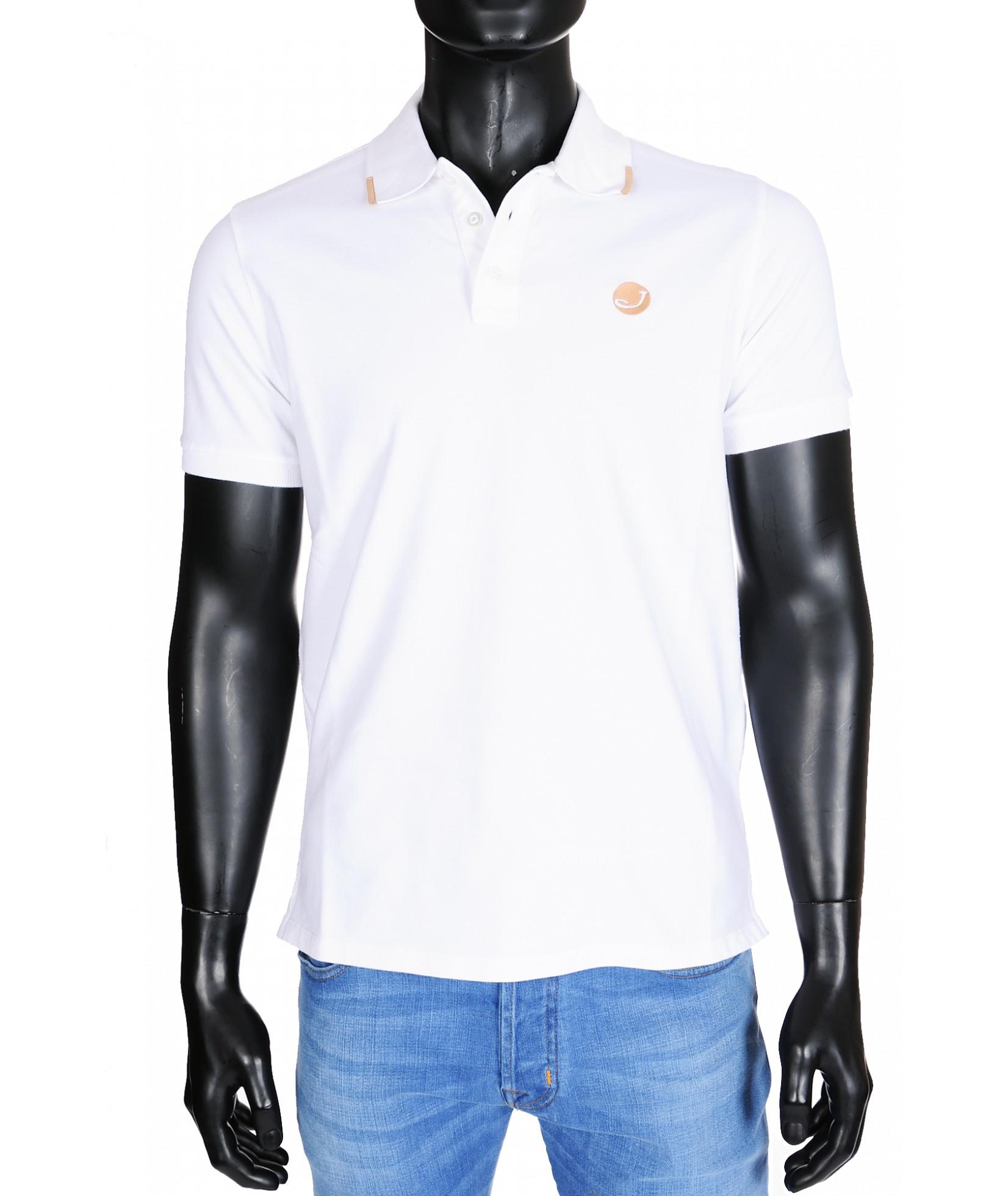 Jacob Cohen Poloshirt 4038 Weiß (30440)