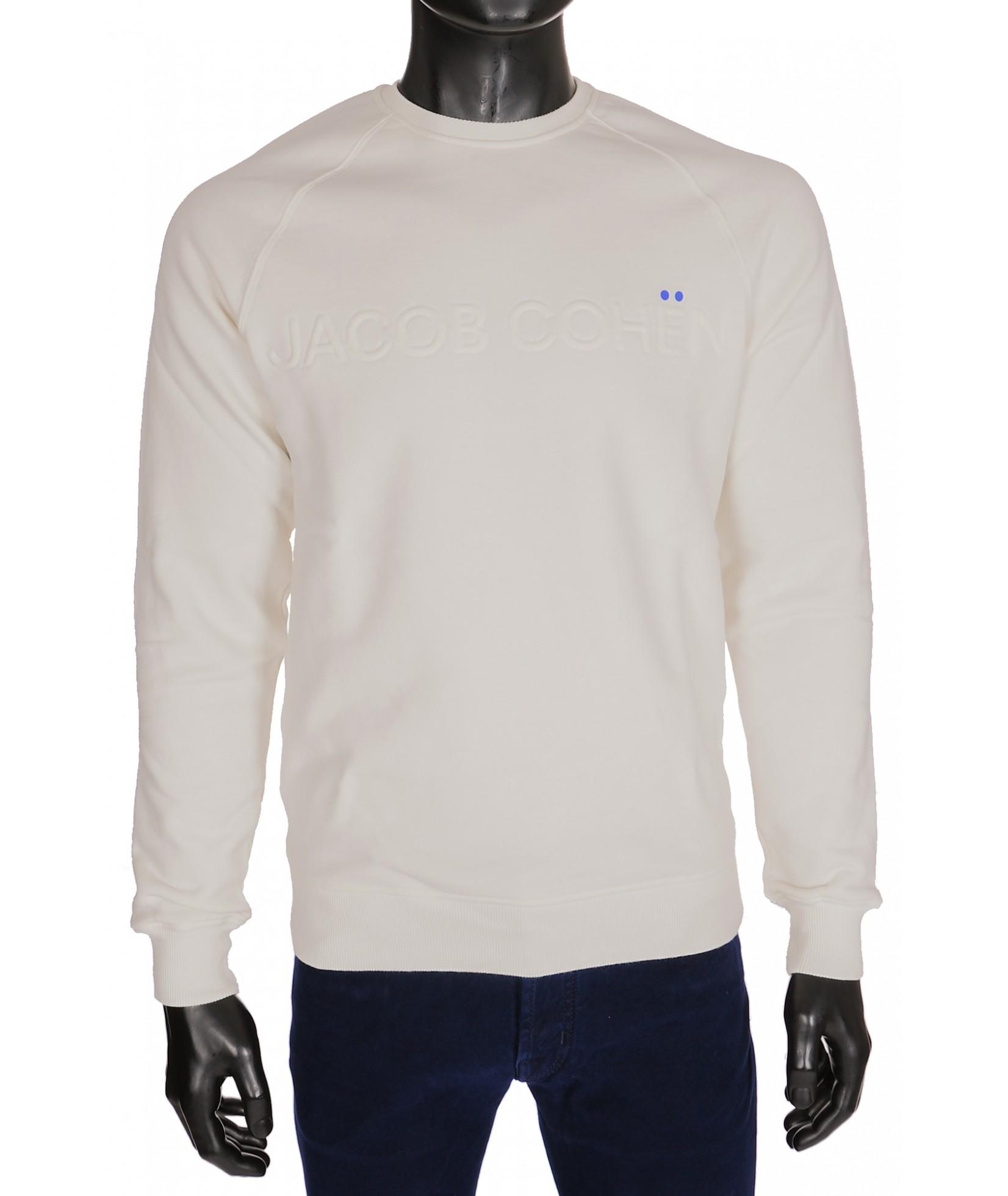Jacob Cohen Sweater Wit Ivory (31434)