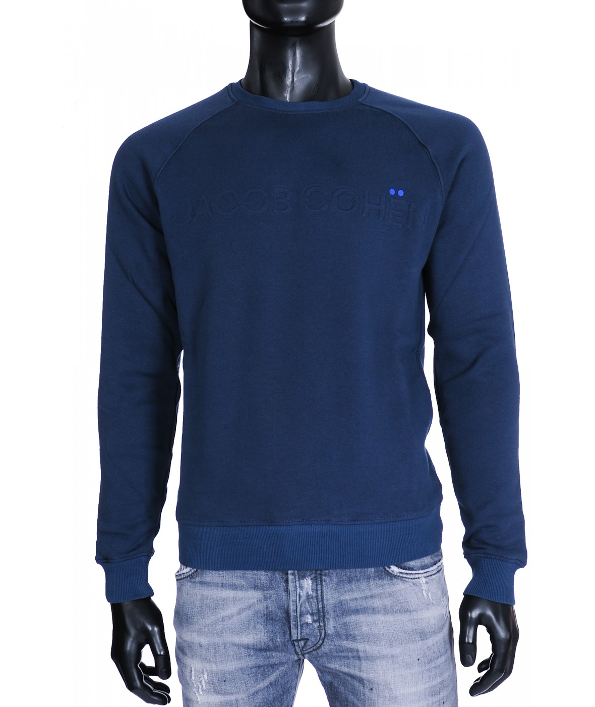 Jacob Cohen Sweater Donkerblauw (31436)