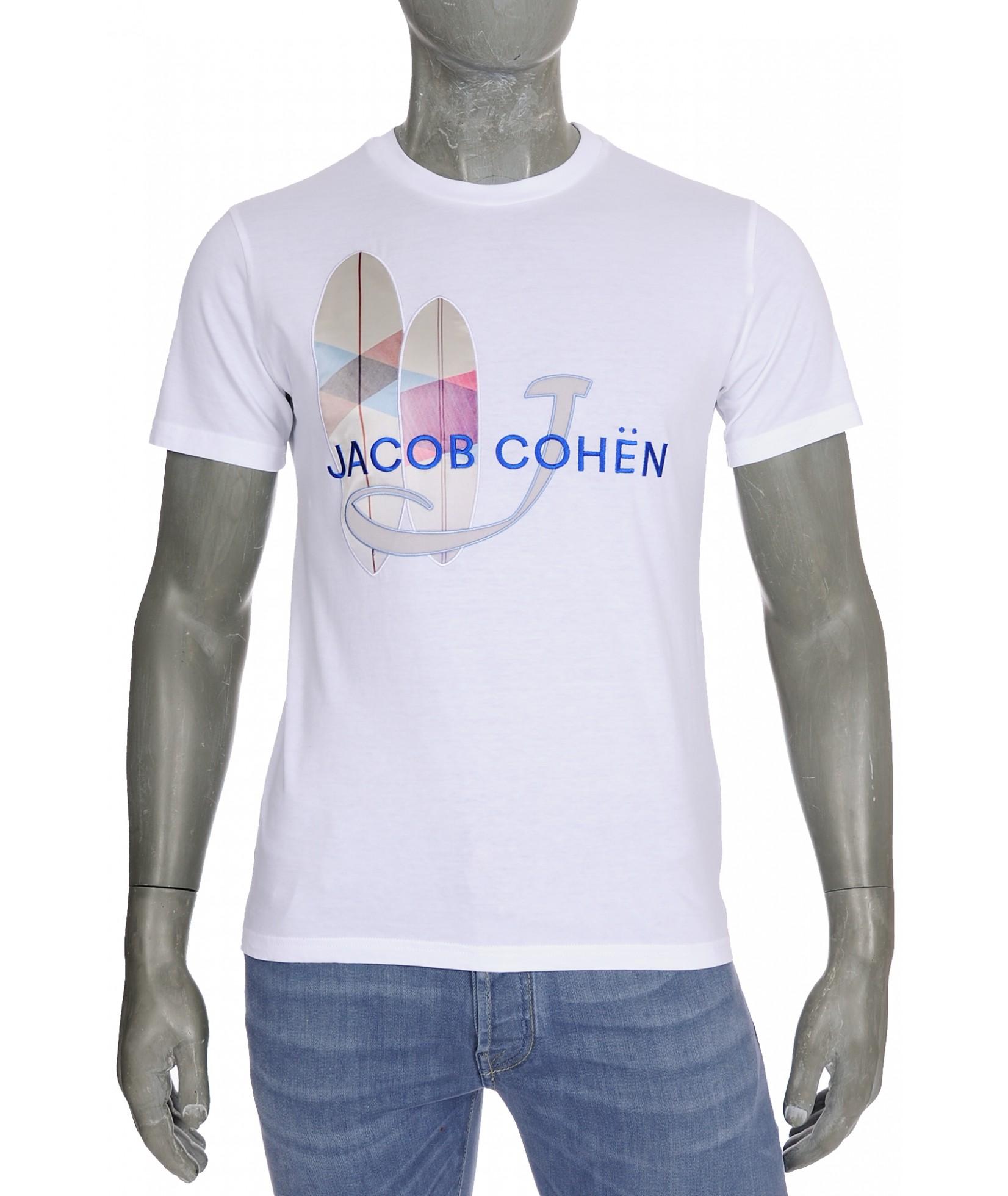 Jacob Cohen J4091 T-Shirt Blanc (32366)