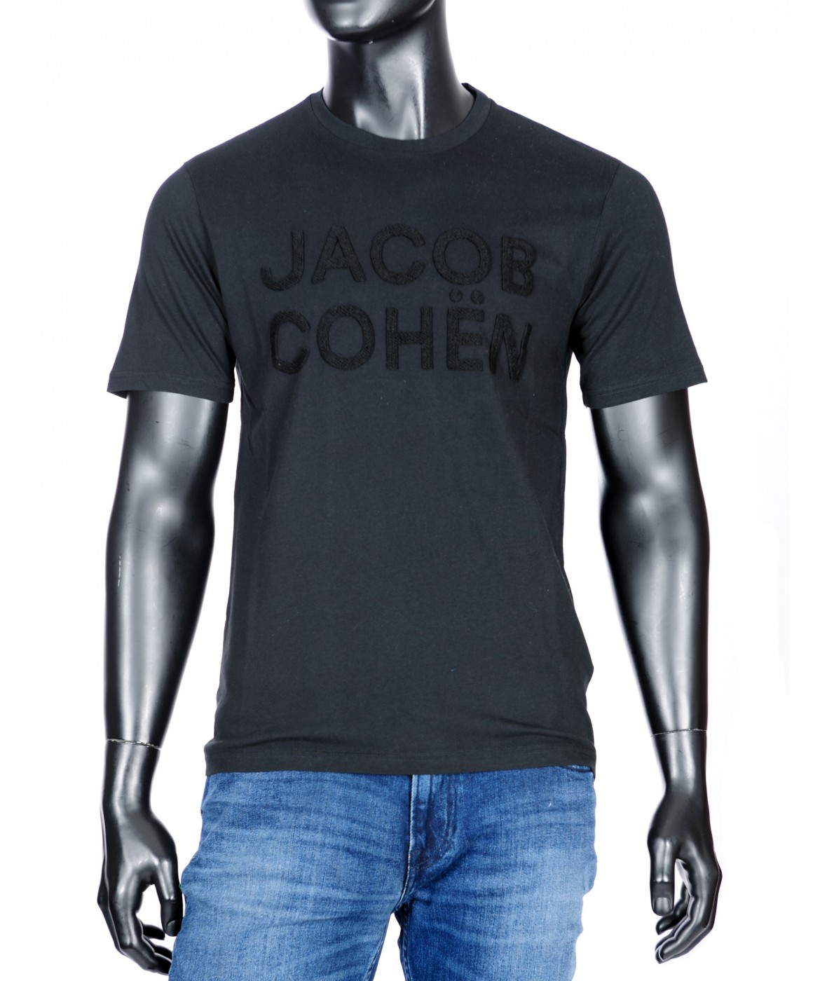 футболка Jacob Cohen black (33978)