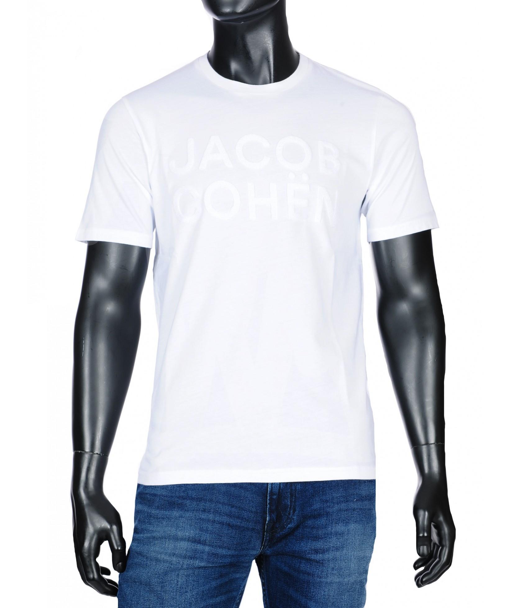Jacob Cohen t-shirt blanc (33975)