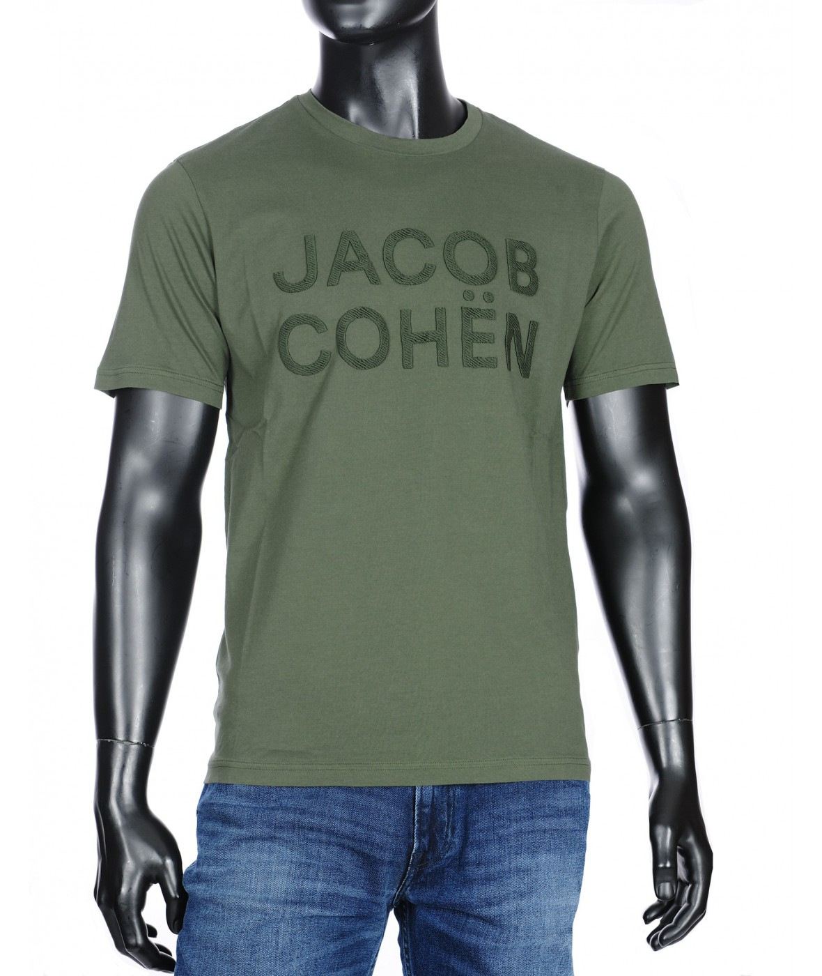 Футболка Jacob Cohen army green (33976)