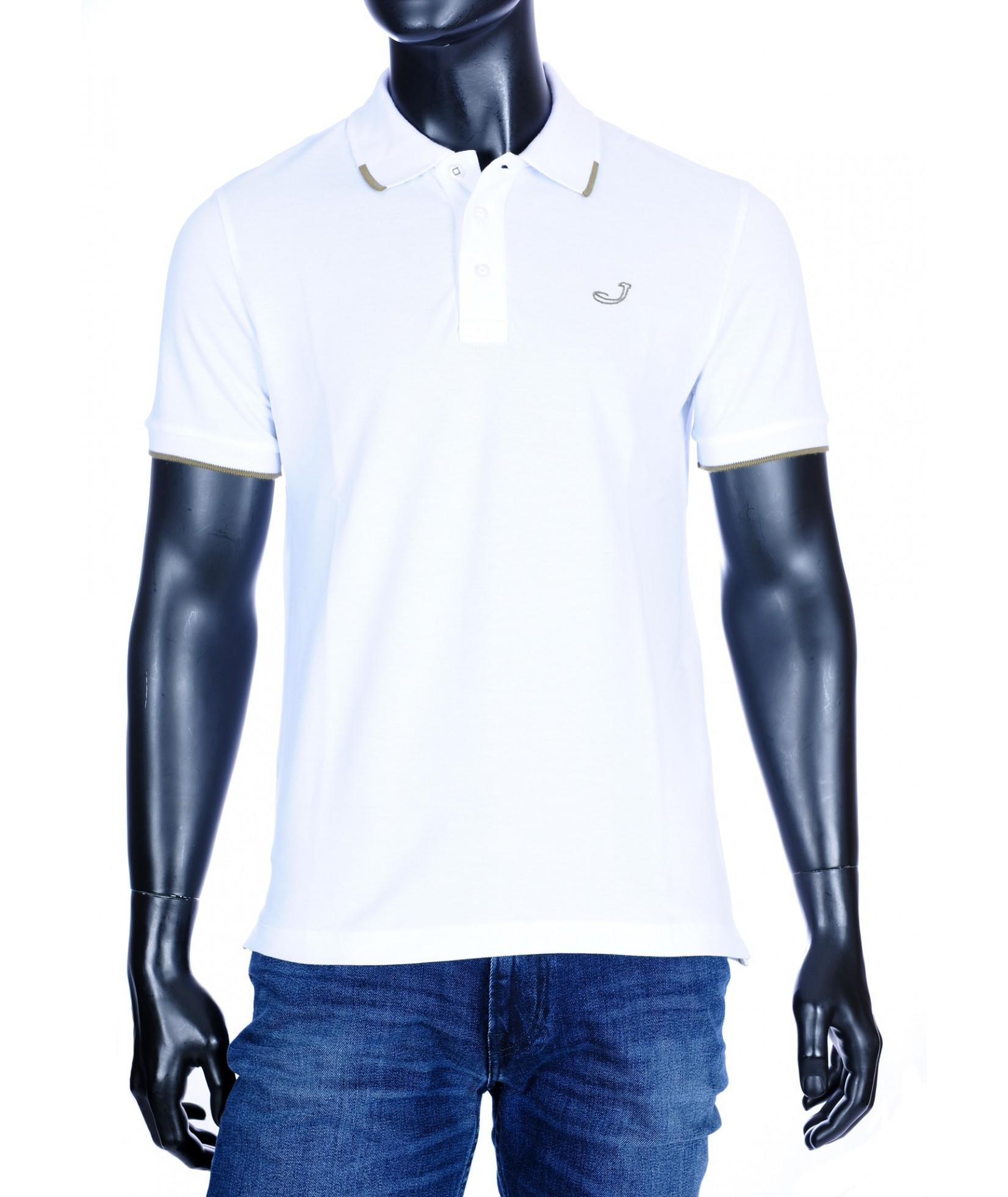 Jacob Cohën Polo shirt wit (34367)