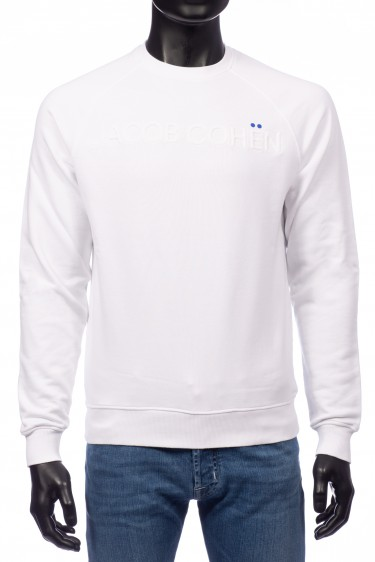 Jacob Cohen Sweater Wit (32329)