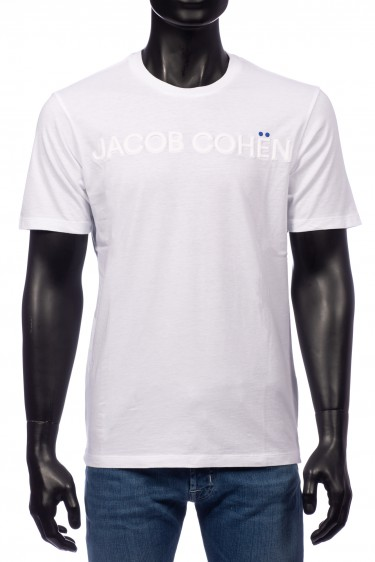 Jacob Cohen T-Shirt Wit (32331)