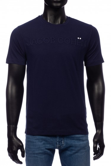 Jacob Cohen T-Shirt Blauw (32332)