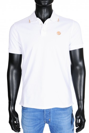 Jacob Cohen Poloshirt 4038 Wit (30440)