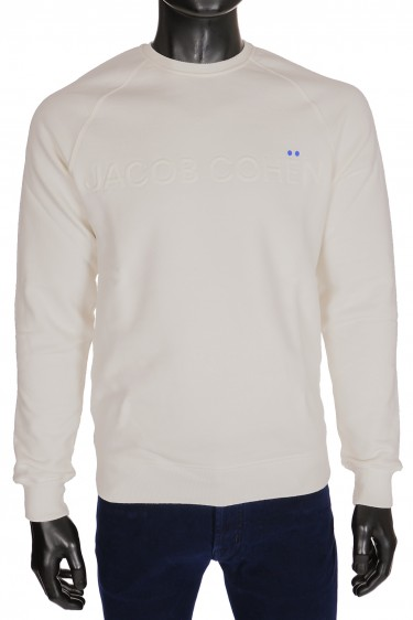 Jacob Cohen Sweater Wit Ivory (31434)