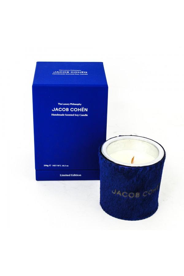 Bougie parfumée au soja Jacob Cohen bleu
