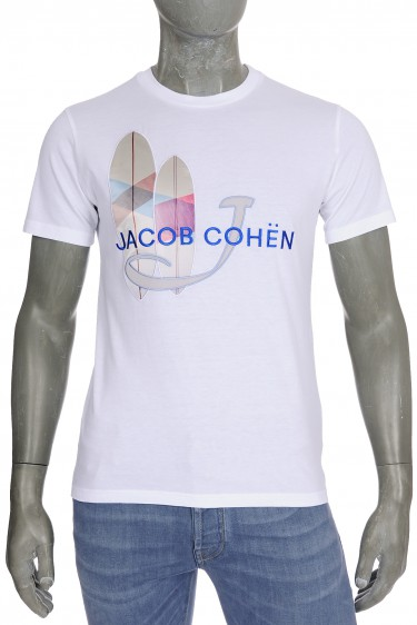 Jacob Cohen J4091 T-Shirt Blanc (32366)
