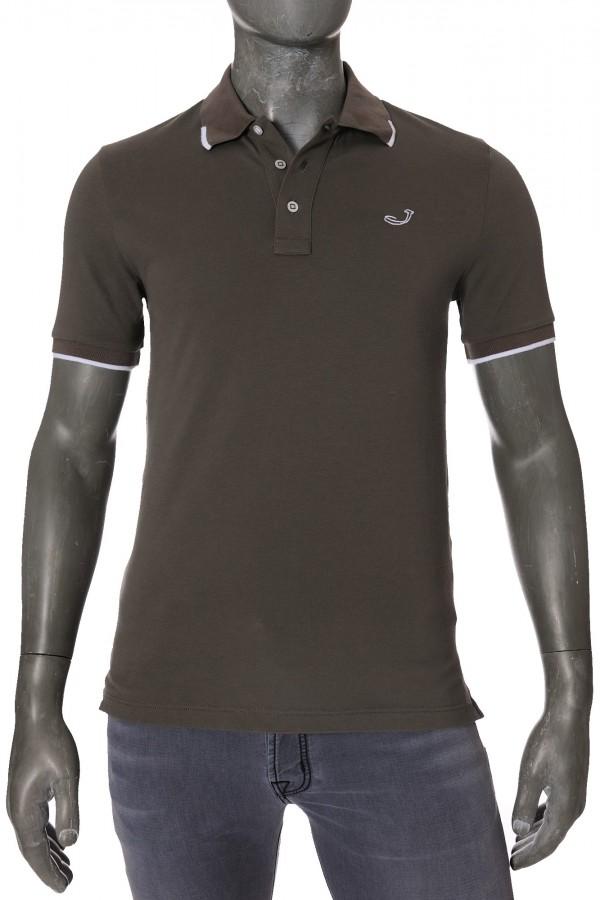 Рубашка-поло Jacob Cohen J4038 Taupe (32330)