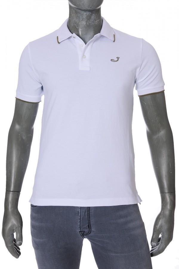 Рубашка-поло Jacob Cohen J4038 White (32363)