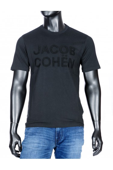 Jacob Cohen t-shirt zwart (33978)
