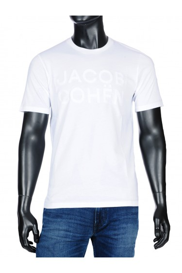 Jacob Cohen t-shirt wit (33975)