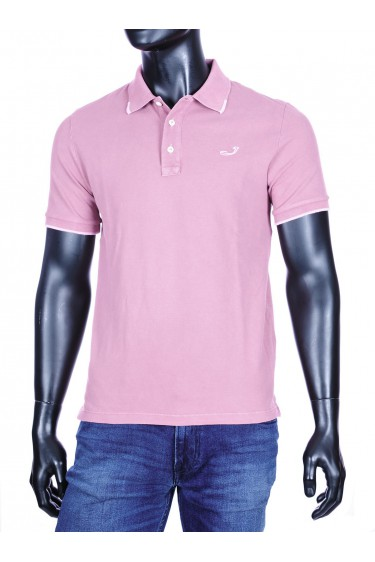 Jacob Cohen basic polo oud roze (34303)