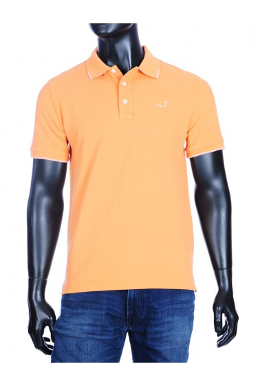 Jacob Cohen basic polo oranje (34302)