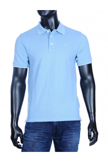 Jacob Cohen basic polo lichtblauw (34304)