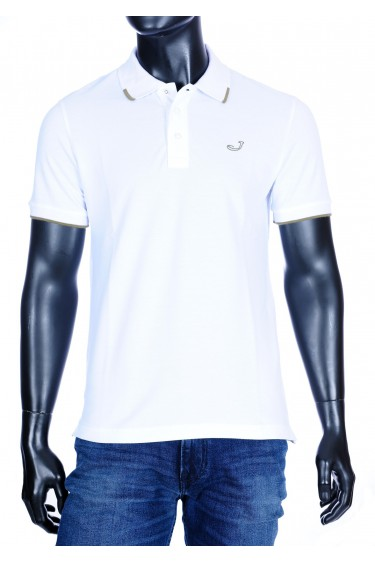 Jacob Cohën Polo shirt wit (34367)