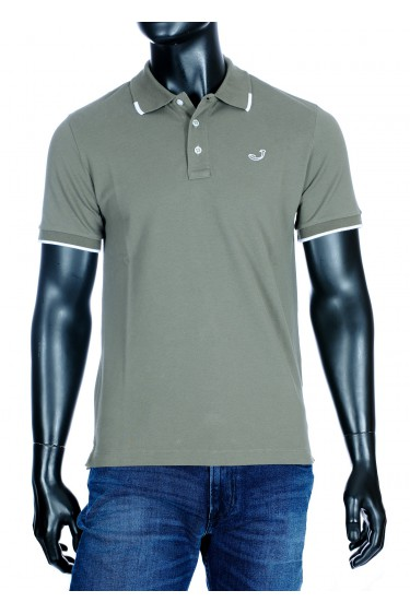 Jacob Cohën Polo shirt taupe (34368)