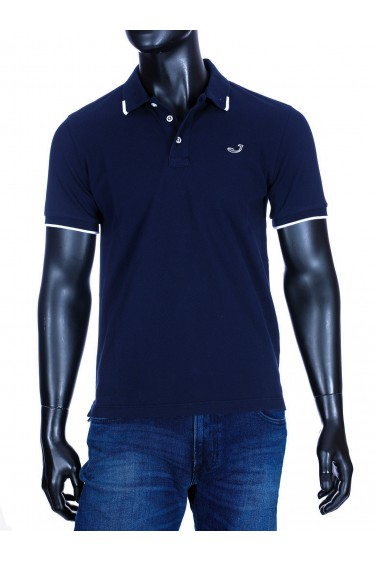 Jacob Cohën polo shirt donkerblauw (34369)