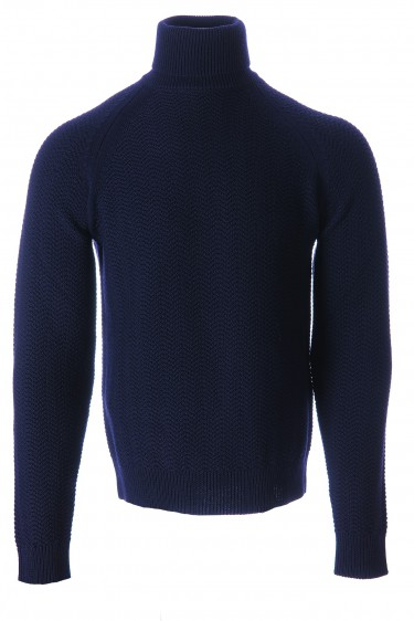 Jacob Cohën sweater dark blue (34840)