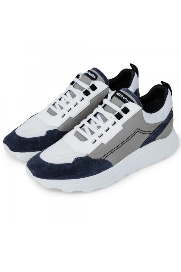 Jacob Cohën sneaker New Spiridon grau/weiss (35102)