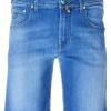 Jacob Cohen J6636 short blauw (33949)